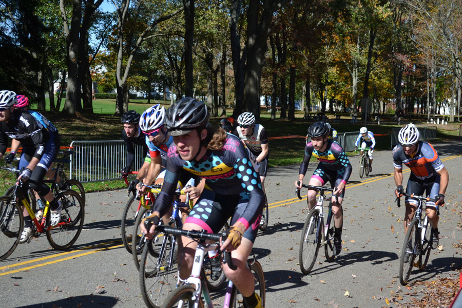 Eric and Phil rocking the start. (photo credit Rutgers Cycling - https://www.flickr.com/photos/57354085@N05/)